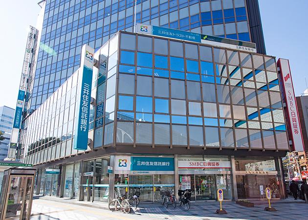住友 銀行 会社 株式 信託 三井