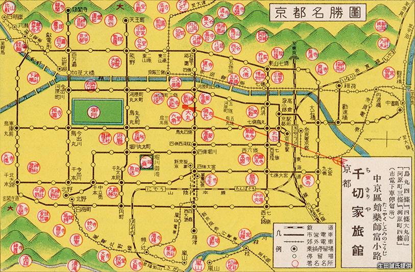 路線 図 市電 京都